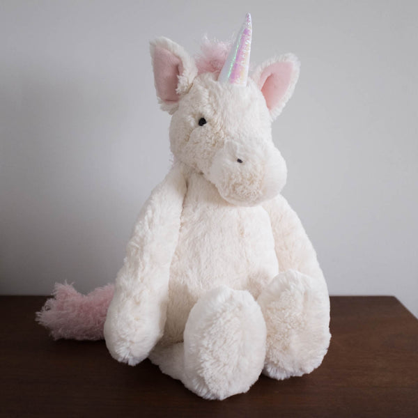Bashful Unicorn Doll- Large