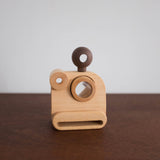 Poloroid Wooden Toy Camera with Kaleidoscope