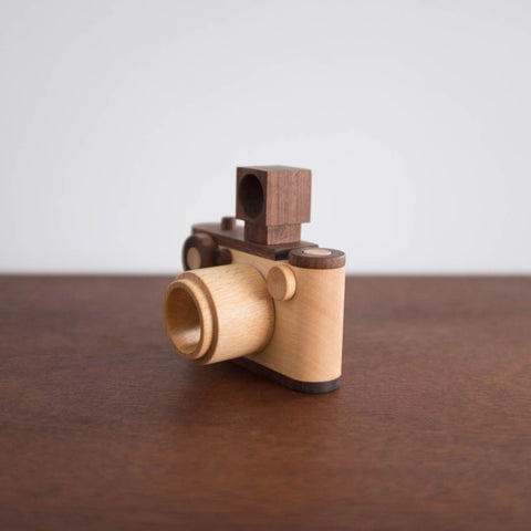 35mm Wooden Toy Camera with Kaleidoscope