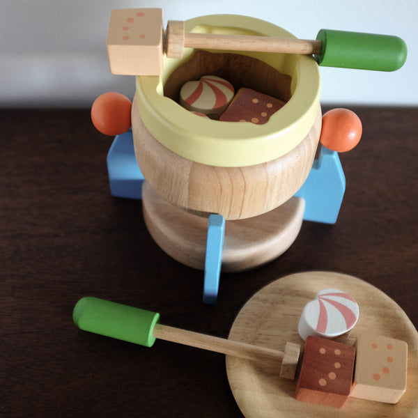 Wooden Fondue Play Set