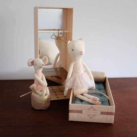 Dancing Cat and Mouse in a Shoebox