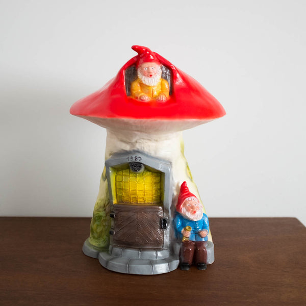Gnome Home Lamp