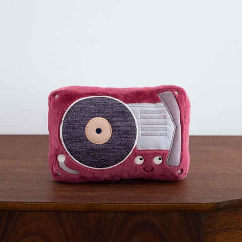 Wiggedy Record Player Plush Doll