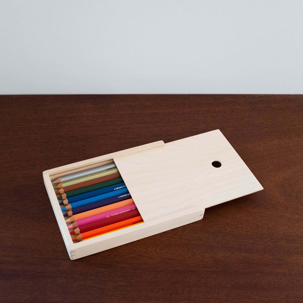 Lyra Giant Colored Pencils in Wooden Box