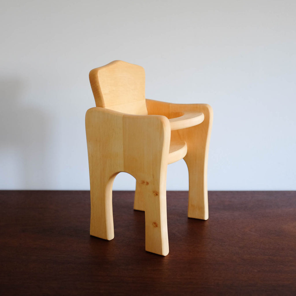 Wooden Doll High Chair ...