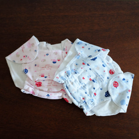 Doll Cloth Diapers- Set of Two