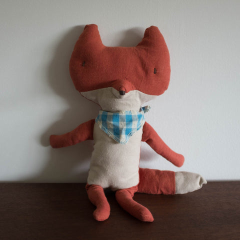 Fox with Scarf Doll