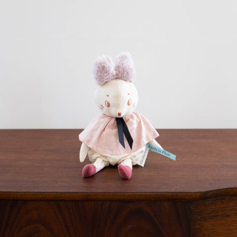 Apres La Pluie French Animal Doll - Bunny