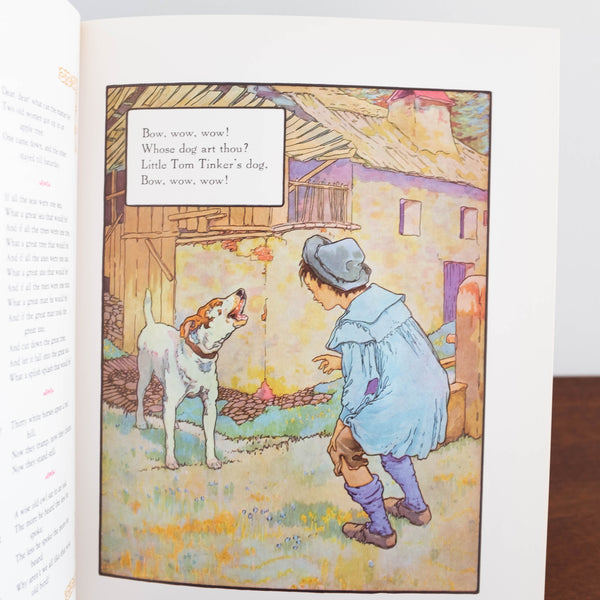 Vintage Book: Mother Goose, Classic Volland Edition