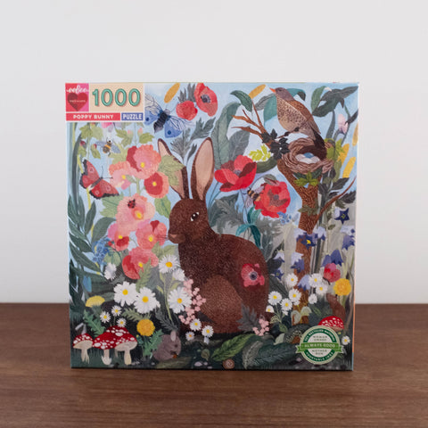 1000 pc Puzzle: Poppy Bunny