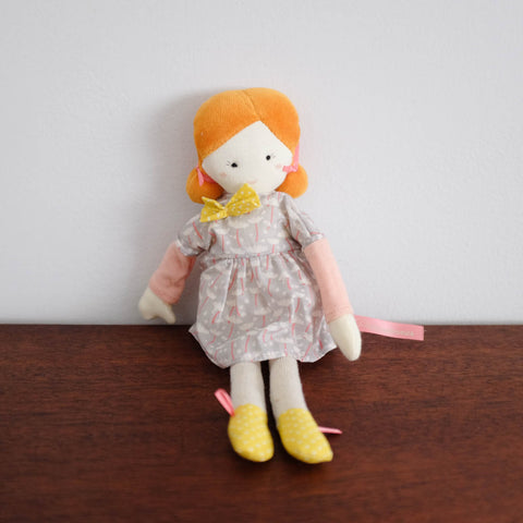 Mademoiselle Mini Doll- Blanche
