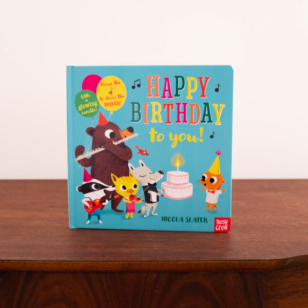 Happy Birthday To You Musical Book