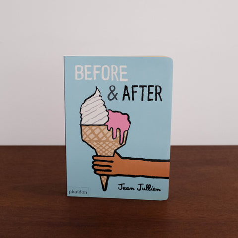 Before and After Book