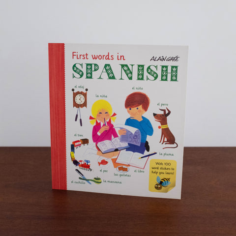 First Words in Spanish Activity Book