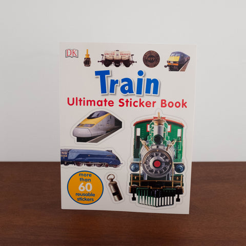 Ultimate Sticker Book: Trains