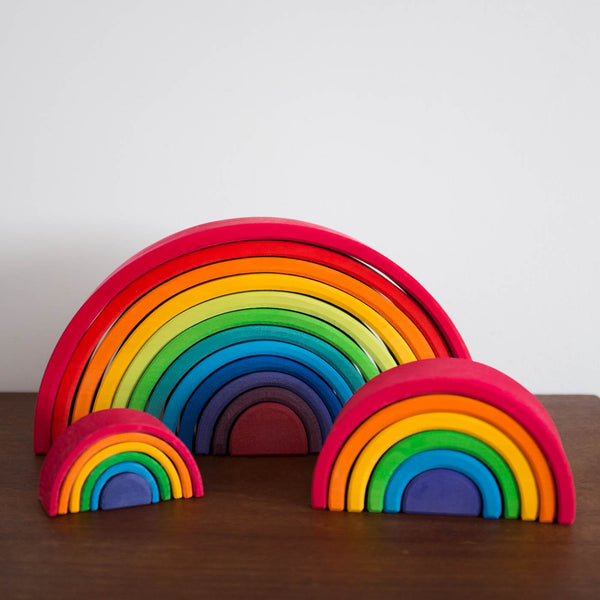Wooden Rainbow Large-Multi Color
