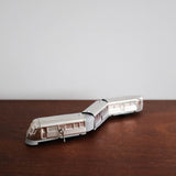 Flying Yankee Silver Streamline Windup Tin Train