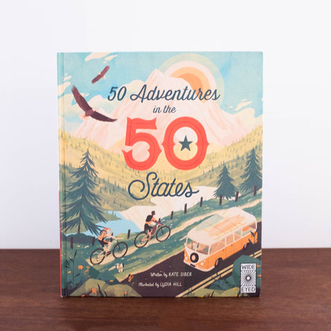 50 Adventures in 50 States Book