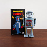 Mechanical Tin Robot Toy