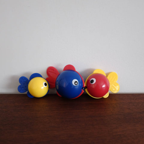 Bubbles Fish Trio Toy