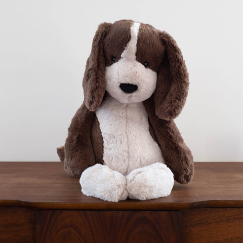 Bashful Fudge Puppy Doll- Extra Large