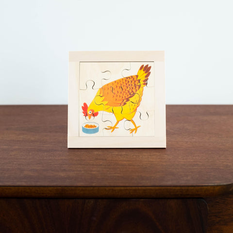 Wooden Puzzles: Rooster