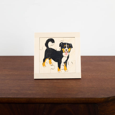 Wooden Puzzles: Dog