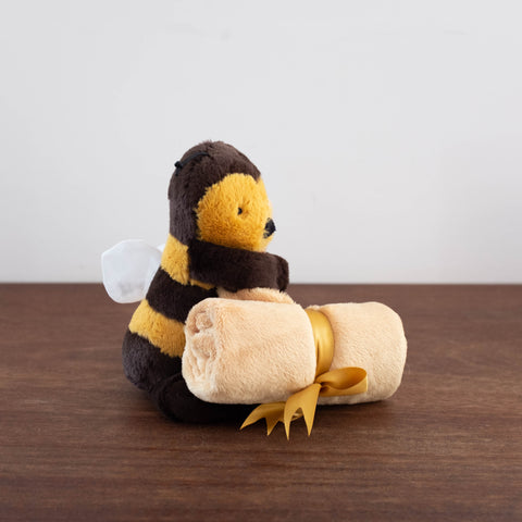 Bashful Bee Soother Blankie