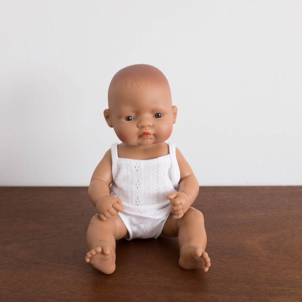 Newborn Baby Doll- Hispanic Girl