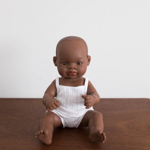 Newborn Baby Doll- African Girl