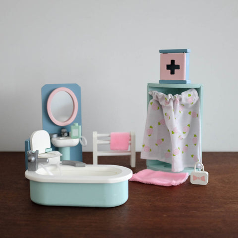 Bathroom Doll Furniture Set