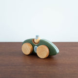 Wooden Race Car Toy- Green
