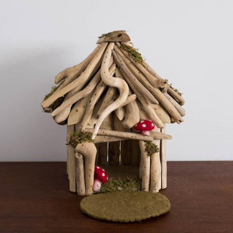 Wooden Fairy Doll House