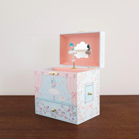 Treasure Music Box: Ballerina on Stage