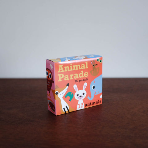 Animal Parade 3D Puzzle Set