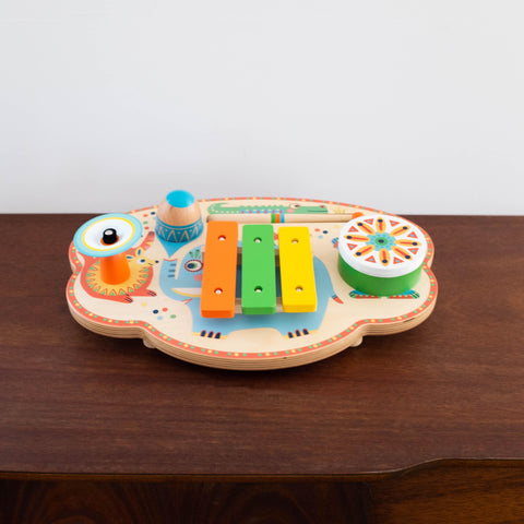Animambo Wooden Musical Carnival Set