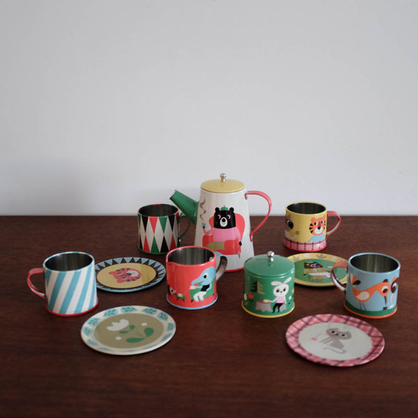 Retro Tea Set