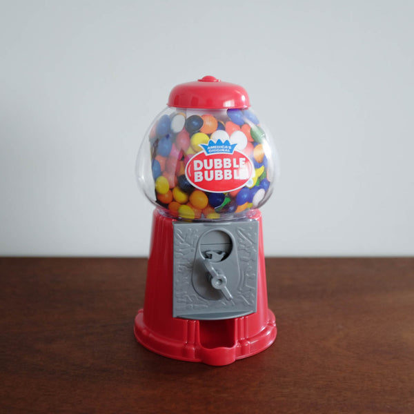 Retro Gumball Machine- Red