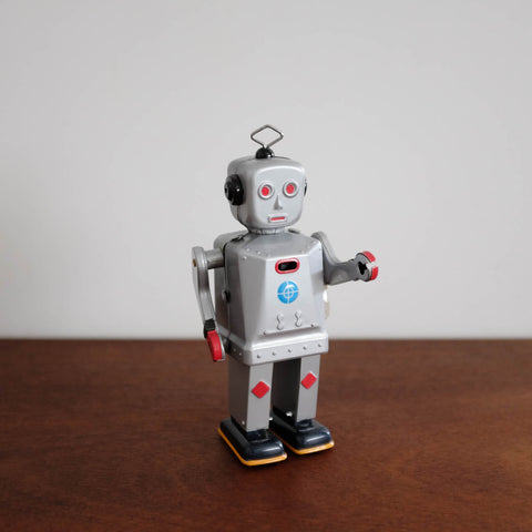 Sparkling Mike Tin Robot Toy