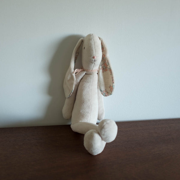 Soft Bunny Plush Doll- Ivory