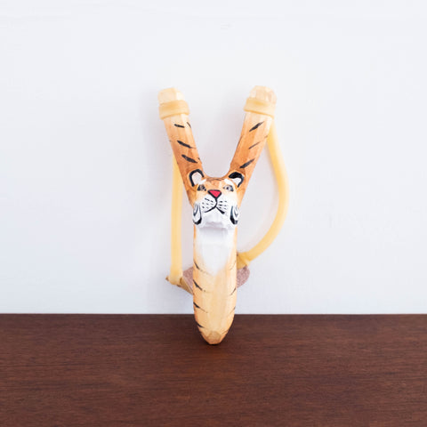 Wooden Slingshot- Tiger