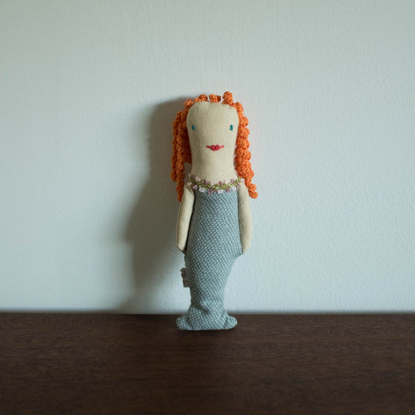 Mermaid Rattle Doll