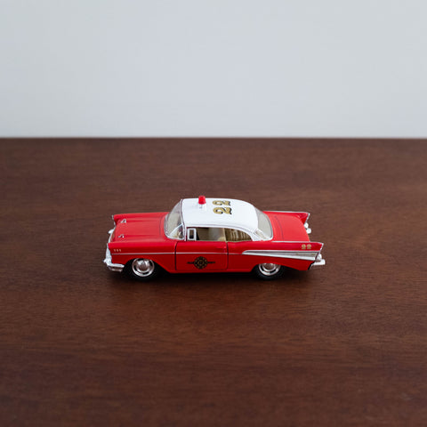 Die Cast Metal Cars: Fire Chief Car