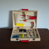 """ I am Working"" Wooden Tool Valise Set"
