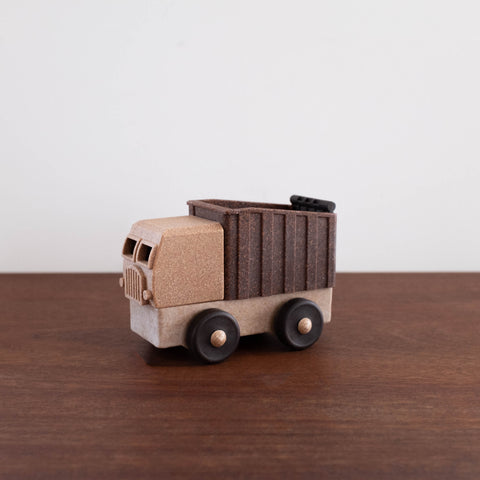 Natural Recycled Wood- Dump Truck