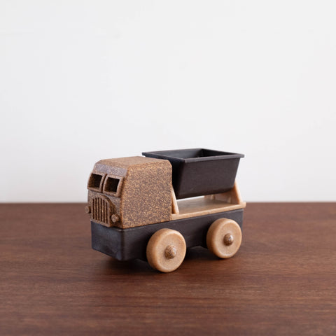 Natural Recycled Wood- Tipper Truck