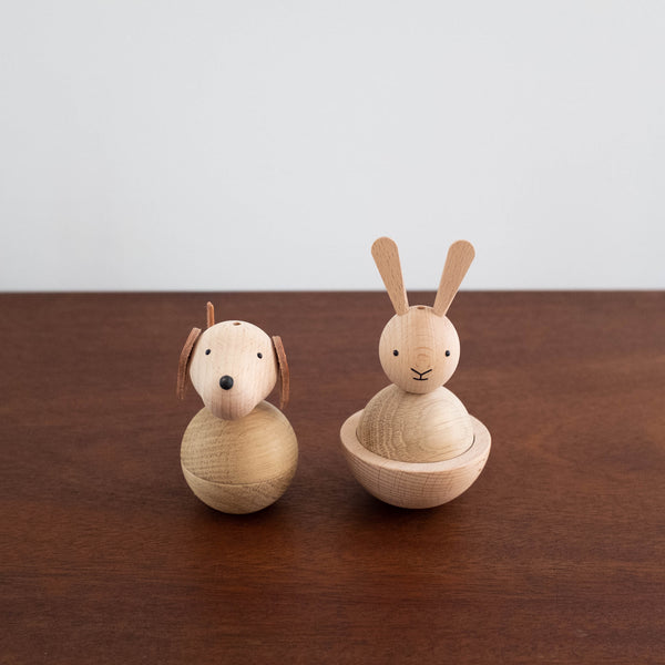 Wooden Rabbit Toy