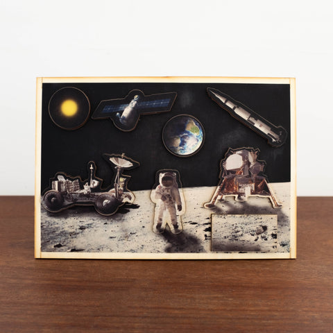 3D Wooden Puzzles- Space Facts