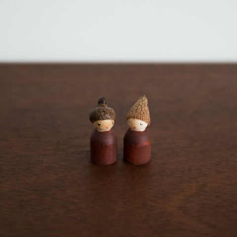Acorn Babies- Set of Two