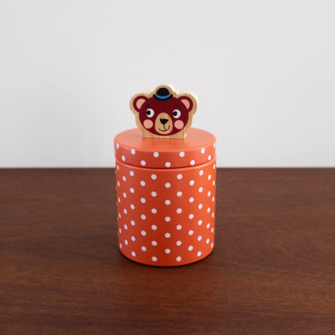 Bear Biscuit Barrel Set